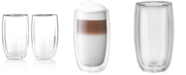 J.A. Henckels Zwilling Sorrento Double Wall Latte Glasses, Set of 2