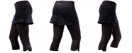 NRS Women's HydroSkin 0.5 Skirted Capris from Eastern Mountain Sports