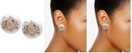Lauren Ralph Lauren Crest Stud Earrings