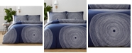 Marimekko Fokus Navy 2-Pc. Twin Comforter Set