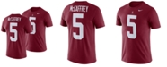 Nike Men's Christian McCaffrey Stanford Cardinal Name and Number T-shirt