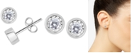 Macy's Diamond Bezel Stud Earrings (1/2 ct. t.w.)
