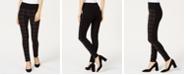 INC International Concepts INC Windowpane-Print Pull-On Pants, Created for Macy's