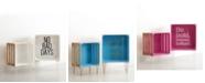 Idea Nuova Urban Living Inspirational Nested Wooden Crates, Set of 2