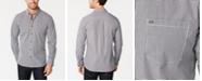 Calvin Klein Men's Extra-Fine Cotton Gingham Slim-Fit Shirt