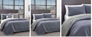 Eddie Bauer Hidden Lake Chambray Blue Twin Quilt Set