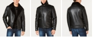 GUESS Asymetrical Faux Leather Jacket