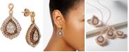 Le Vian Nude Diamonds® & Chocolate Diamonds® Fancy Drop Earrings (2-1/2 ct. t.w.) in 14k Rose, Yellow or White Gold