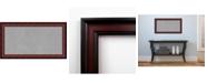 Amanti Art Rubino Cherry Scoop 27x15 Framed Magnetic Board