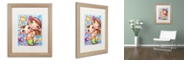 "Trademark Global Jennifer Nilsson My Sister & Me Matted Framed Art - 16"" x 20"" x 0.5"""