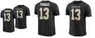 Nike Men's Michael Thomas New Orleans Saints Pride Name and Number Wordmark T-Shirt
