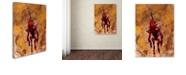 "Trademark Global Craig Snodgrass 'Disconnect Red' Canvas Art, 14"" x 19"""