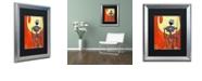 """Trademark Global Craig Snodgrass 'Iron Bot' Matted Framed Art, 16"""" x 20"""""""