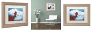 """Trademark Global Craig Snodgrass 'Flight' Matted Framed Art, 11"""" x 14"""""""