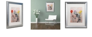 "Trademark Global Craig Snodgrass 'Smile' Matted Framed Art, 16"" x 20"""