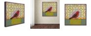 """Trademark Global Rachel Paxton 'Small Bird' Canvas Art, 35"""" x 35"""""""