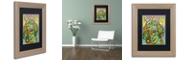 "Trademark Global Dean Russo 'Basset Luv' Matted Framed Art, 11"" x 14"""