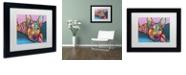 """Trademark Global Dean Russo 'Rocky' Matted Framed Art, 11"""" x 14"""""""