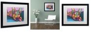 """Trademark Global Dean Russo 'Rocky' Matted Framed Art, 16"""" x 20"""""""