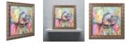 """Trademark Global Dean Russo 'Blue Tang' Ornate Framed Art, 11"""" x 11"""""""