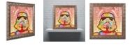 "Trademark Global Dean Russo 'Stormtrooper' Ornate Framed Art, 11"" x 11"""