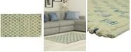 "Riviera Home Bacova Marion Cotton Denim Tiles 27"" x 45"" Rug"