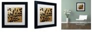 "Trademark Global Color Bakery 'Bellissima Ii' Matted Framed Art, 11"" x 11"""