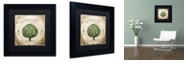 """Trademark Global Color Bakery 'Mangia Iii' Matted Framed Art, 11"""" x 11"""""""