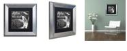 "Trademark Global Color Bakery 'Lake House Iv' Matted Framed Art, 11"" x 11"""