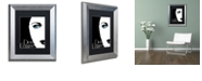 "Trademark Global Color Bakery 'Femme Den Ii' Matted Framed Art, 11"" x 14"""
