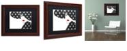 "Trademark Global Color Bakery 'Femme Den Iv' Matted Framed Art, 11"" x 14"""