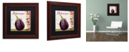 "Trademark Global Color Bakery 'Cucina Italiana V' Matted Framed Art, 11"" x 11"""