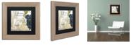 """Trademark Global Color Bakery 'Grand Vin Grenache' Matted Framed Art, 11"""" x 11"""""""