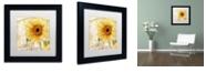 "Trademark Global Color Bakery 'Ete Ii' Matted Framed Art, 11"" x 11"""