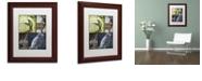 "Trademark Global Color Bakery 'Hunting Season Vii' Matted Framed Art, 11"" x 14"""