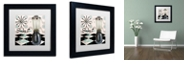 """Trademark Global Color Bakery 'Fifties Kitchen Iv' Matted Framed Art, 11"""" x 11"""""""