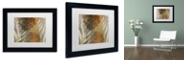 "Trademark Global Color Bakery 'Garden Waltz I' Matted Framed Art, 11"" x 14"""