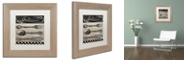 "Trademark Global Color Bakery 'Bistro Parisienne Ii' Matted Framed Art, 11"" x 11"""