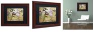 "Trademark Global Color Bakery 'Toscana Ii' Matted Framed Art, 11"" x 14"""