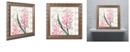 "Trademark Global Color Bakery 'Hyacinth' Ornate Framed Art, 14.75"" x 14.75"""