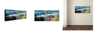 "Trademark Global Michael Blanchette Photography 'Coast Of Lewis' Canvas Art, 10"" x 24"""