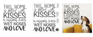 Brewster Home Fashions Wagging Tails And Wet Noses Wall Quote