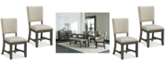 Furniture Omaha Dining Chair (Set Of 2), Quick Ship