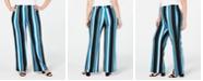 NY Collection Plus & Petite Plus Striped Soft Pants