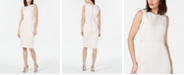 Calvin Klein Imitation-Pearl Sheath Dress
