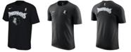 Nike Men's Minnesota Timberwolves Hardwood Classics Logo T-Shirt