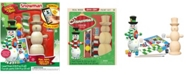 Masterpieces Puzzles Masterpieces Works of Ahhh, Snowman Paint Kit