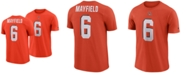 Nike Men's Baker Mayfield Cleveland Browns Player Pride Name and Number Logo 3.0 T-Shirt