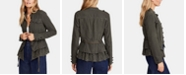 Free People Emilia Lace-Trim Tie-Waist Jacket