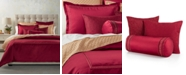Hotel Collection CLOSEOUT! Red Luxe Border Bedding Collection, Created for Macy's